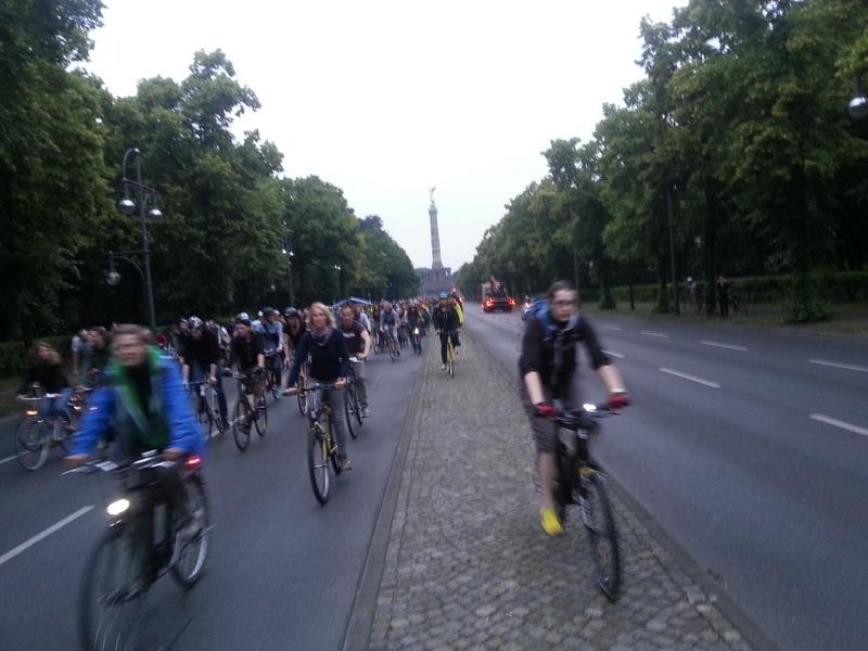 Critical Mass Berlin – Juni 2015